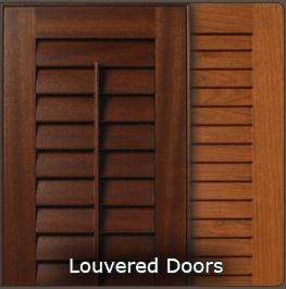 Frame  Mullion Curved  Radius  Custom Louvered Cabinet