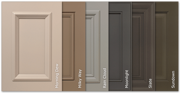 New SolidTone Paint Colors Options For Kitchen Cabinets