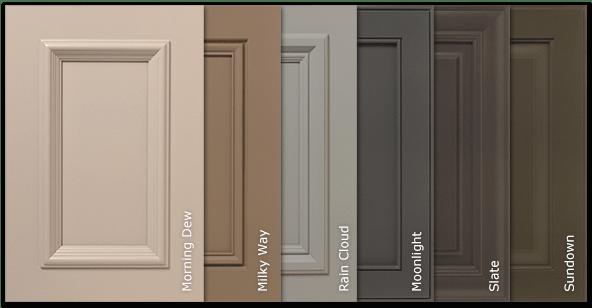 melamine kitchen cabinets cart plans new solidtone® (paint) colors options for ...