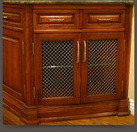 Decorating  Wire Mesh For Cabinet Doors - Inspiring ...