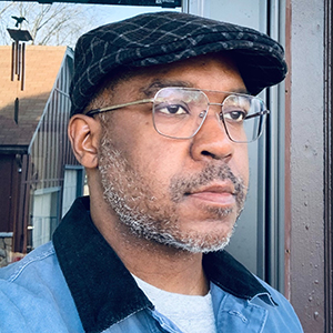 Headshot of artist Lamar Peterson