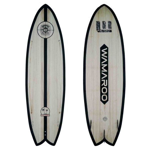 tabla de kitesurf de madera wamaroo