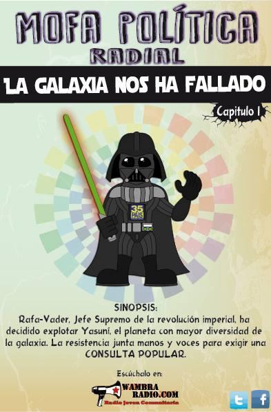 La galaxia nos ha fallado – Episodio I