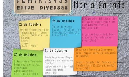 Jornada de diálogos Feministas entre Diversas