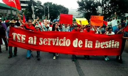 Un grito que se fortalece en las calles hondureñas