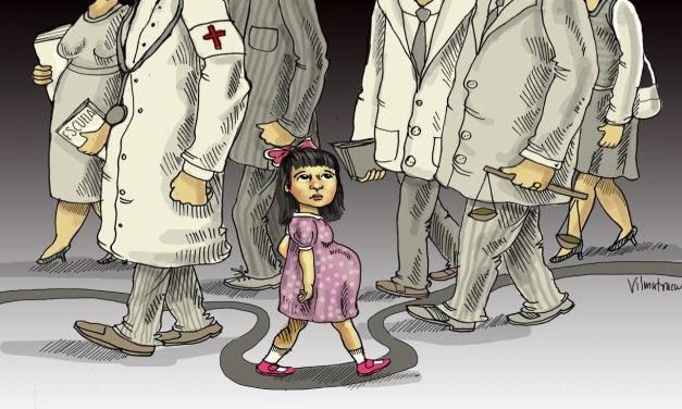 El camino de Norma y las niñas  forzadas a parir