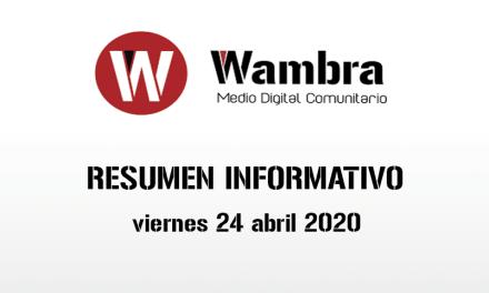 Corona Virus Ecuador – resumen viernes, 24 de abril de 2020
