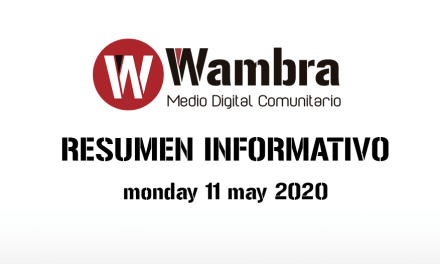English Version – Corona Virus Ecuador – summery monday, 11 may 2020