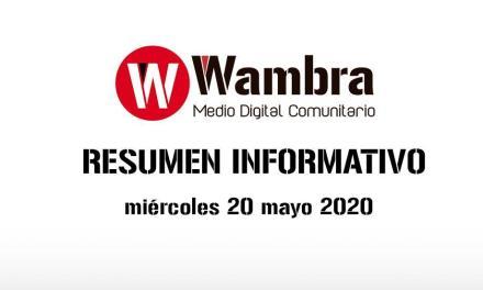 Corona Virus Ecuador – resumen miércoles 20 de mayo 2020