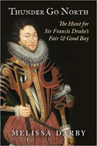 Book cover had a portrait of Sir Francis Drake