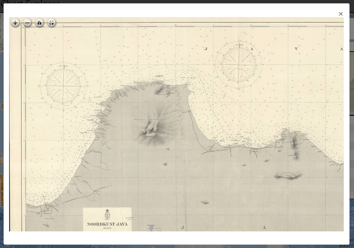 historical nautical chart
