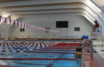 Our beautiful new facility in WPI's Sports and Recreation Center