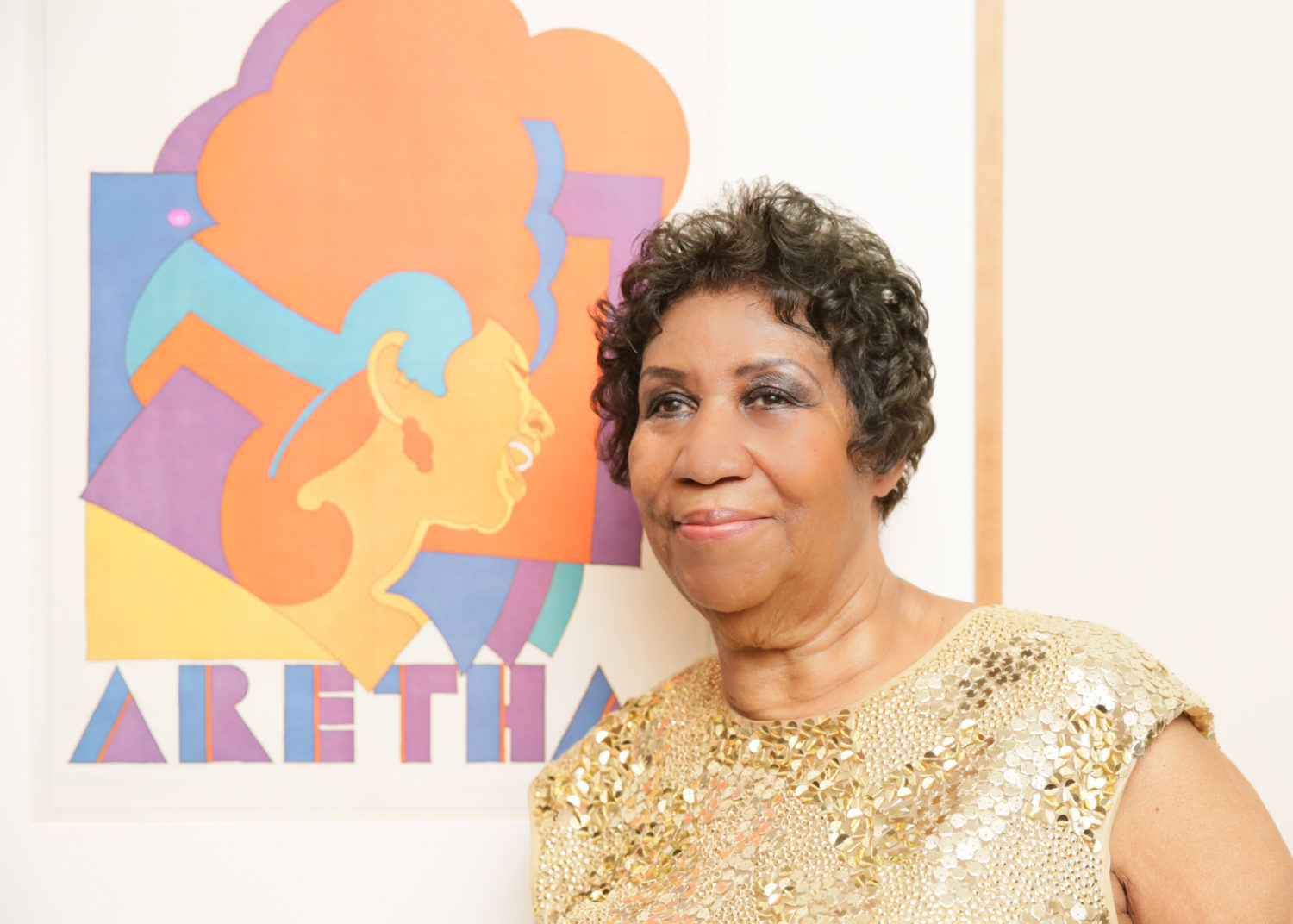 the story behind that aretha franklin poster at the national portrait gallery wamu