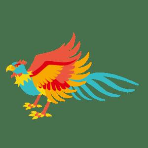 火の鳥のイラスト