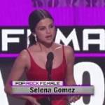 憧れのセレーナ・ゴメスさんが、アメリカン・ミュージック・アワード(AMA)2016で受賞!久しぶりの姿に感涙♡