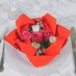 もうすぐバレンタイン♡テーブルナプキンで彼をおもてなし【Vol.1 ハス編】