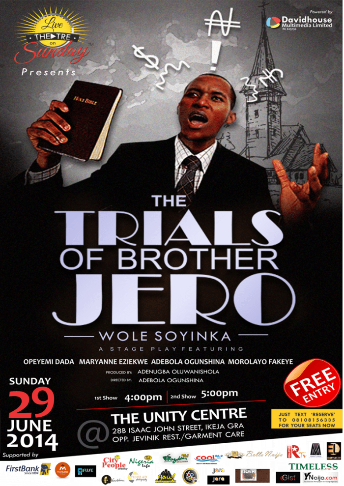 Trials of Bro Jero