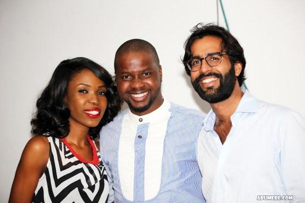 Lala, Adebola Williams and Aditya Chellaram