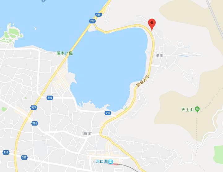 03-hotel-route-inn-kawaguchiko-map