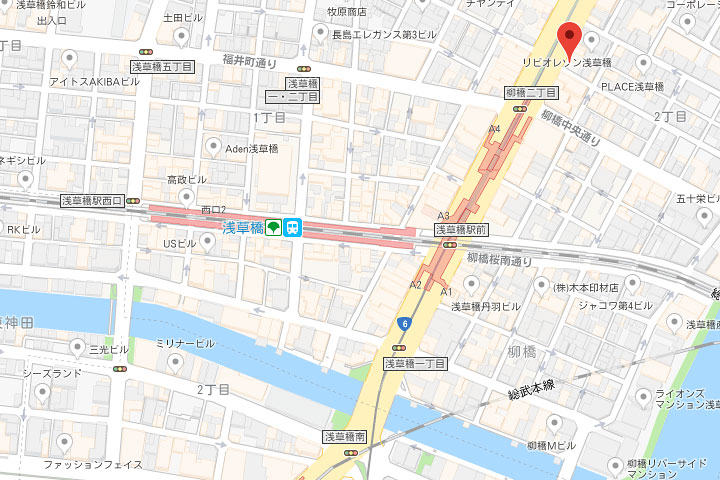 05-asakusabashist-kitaguchi-map