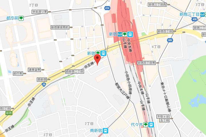 07-jr-kyushu-hotel-blossom-shinjuku-map