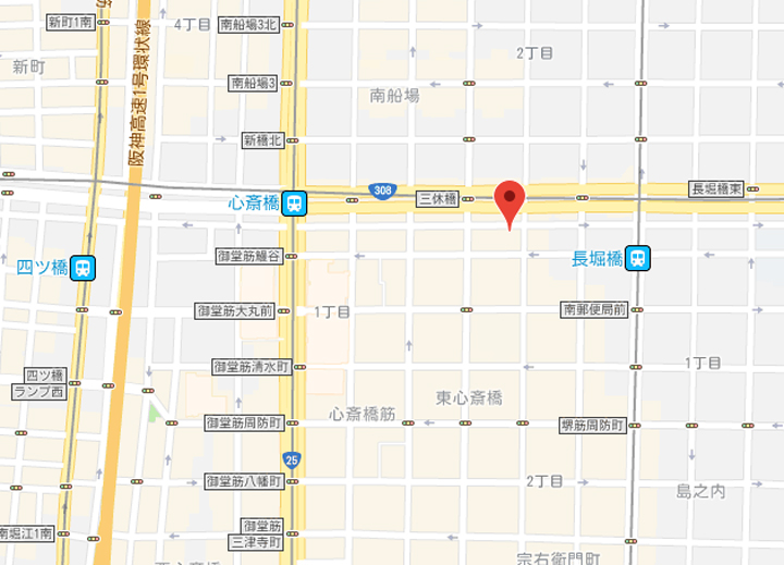 10-fresa-inn-osaka-shinsaibashi-map