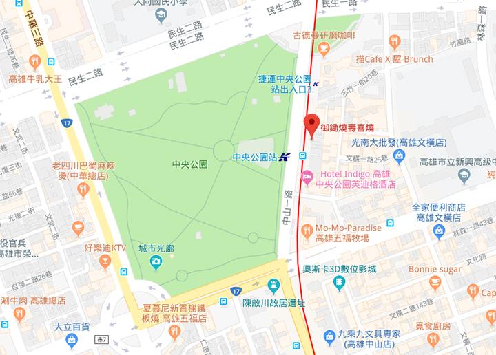 kaohsiung-sukiyaki-map
