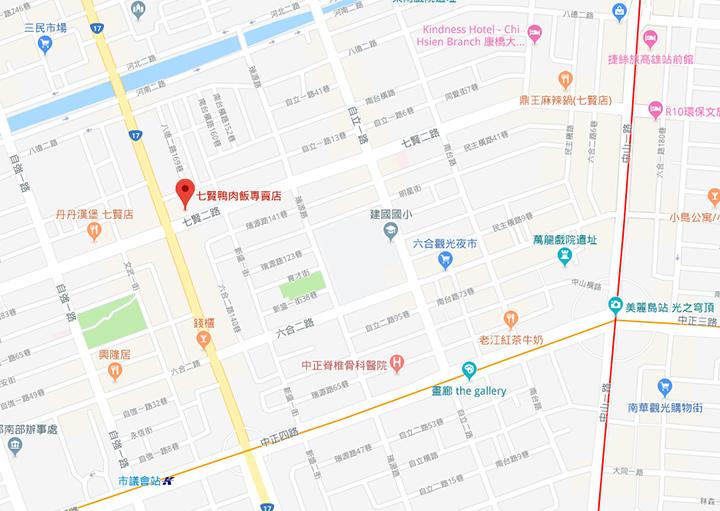 qianjin-duck-rice-map