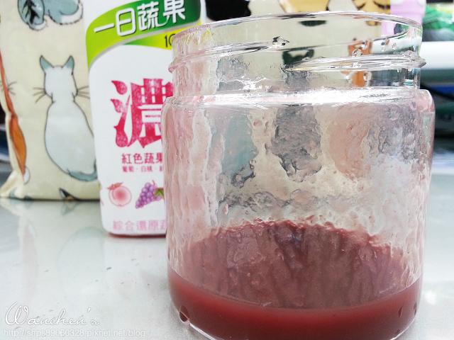 20140616波蜜一日蔬果 100%紅色濃蔬果汁_131747