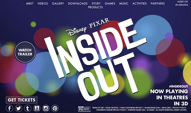 電影 腦筋急轉彎Inside Out
