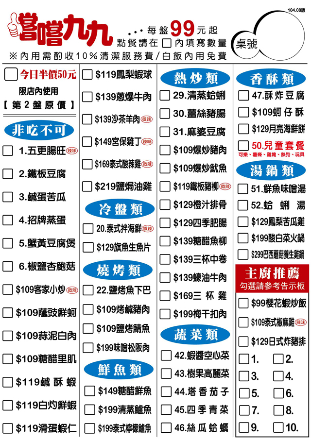 嚐嚐九九 台北三峽店