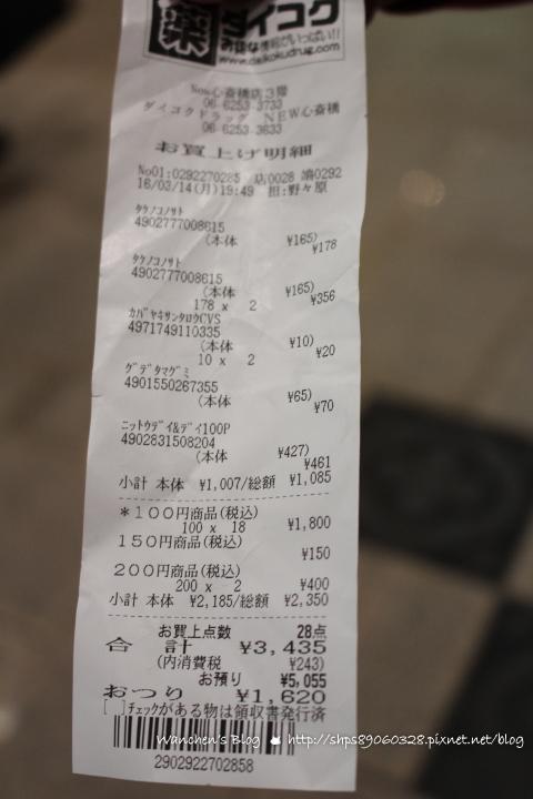 心齋橋購物 大國藥妝店