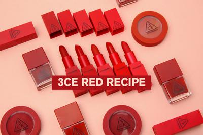 3ce red recipe