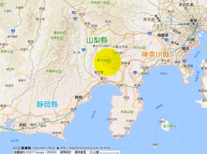 富士山位置