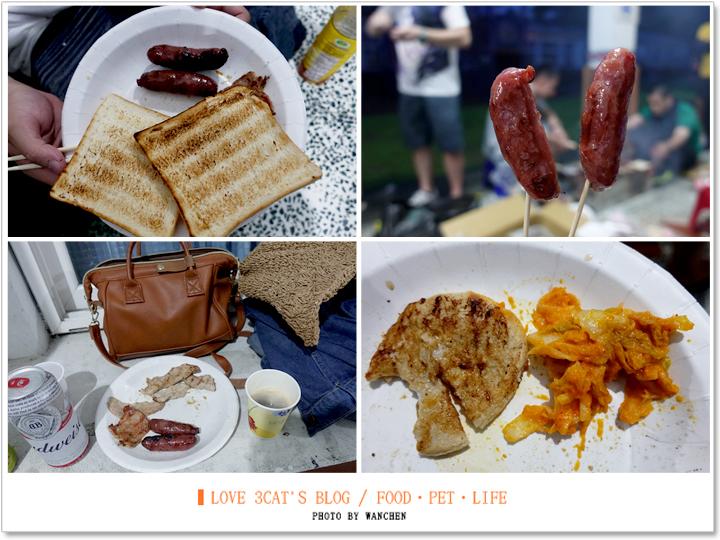 東澳國小露營烤肉