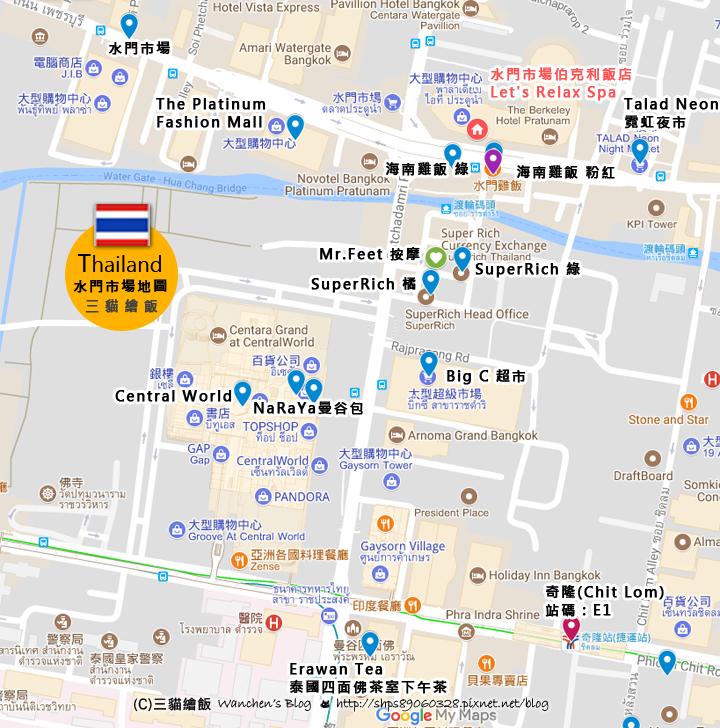 水門市場地圖