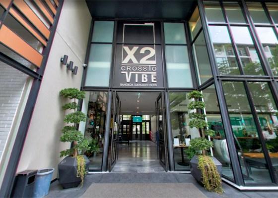 曼谷素坤逸路X2活力飯店 X2 Vibe Bangkok Sukhumvit