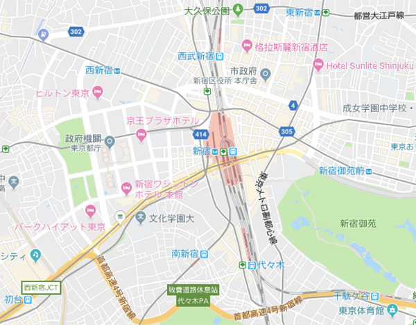 google-shinjuku-map-2019