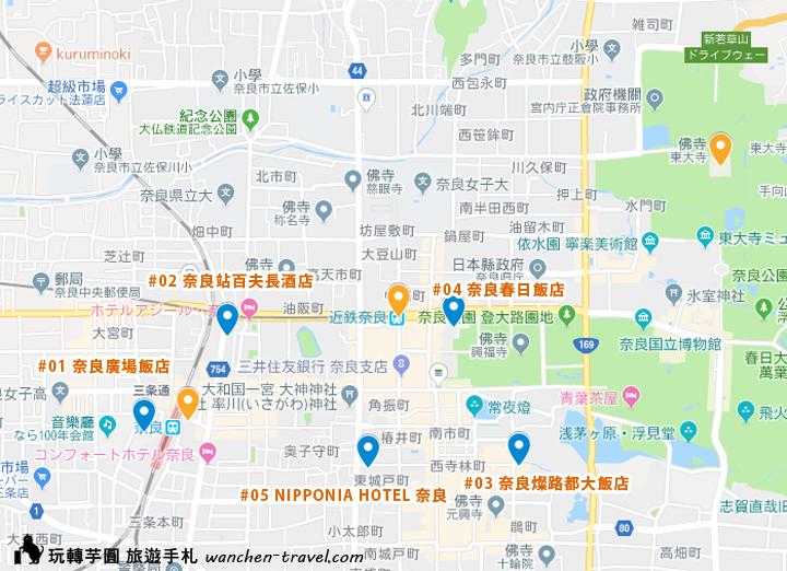 relux-nara-hotel-map