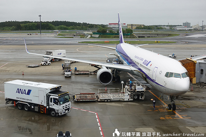 全日空航空評價 2件行李買好買滿 nh824 台北飛東京航班分享