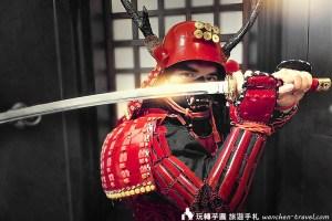 淺草甲胄體驗 Samurai愛
