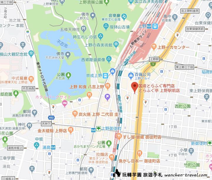 torafugu-ueno-map