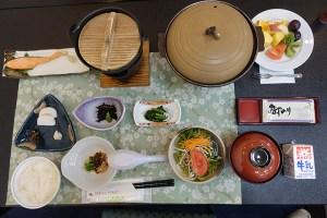 富士河口湖溫泉新世紀飯店早餐