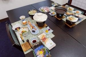 富士河口湖溫泉新世紀飯店晚餐