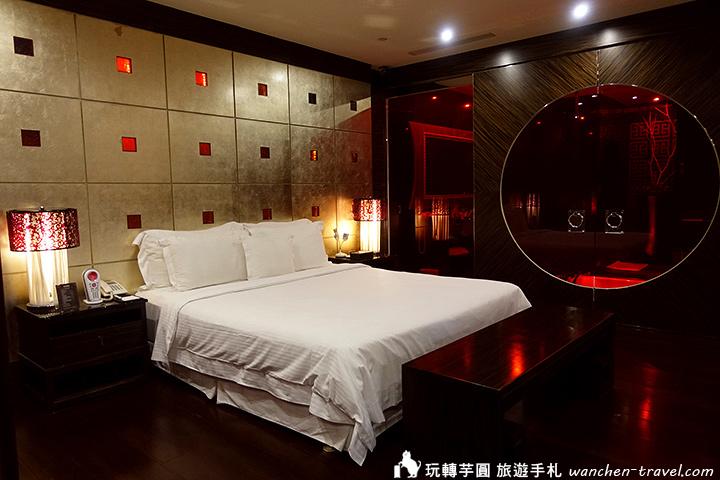 大直薇閣 夜上海房型