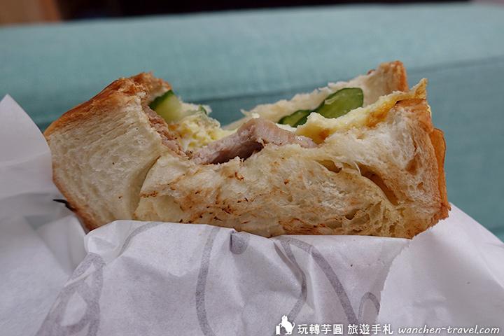 喜得炭火燒三明治