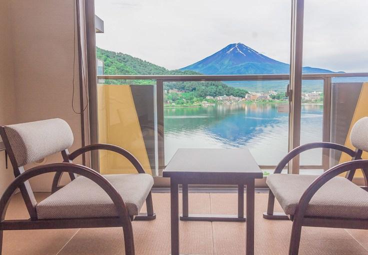 富士吟景 富士山窗景
