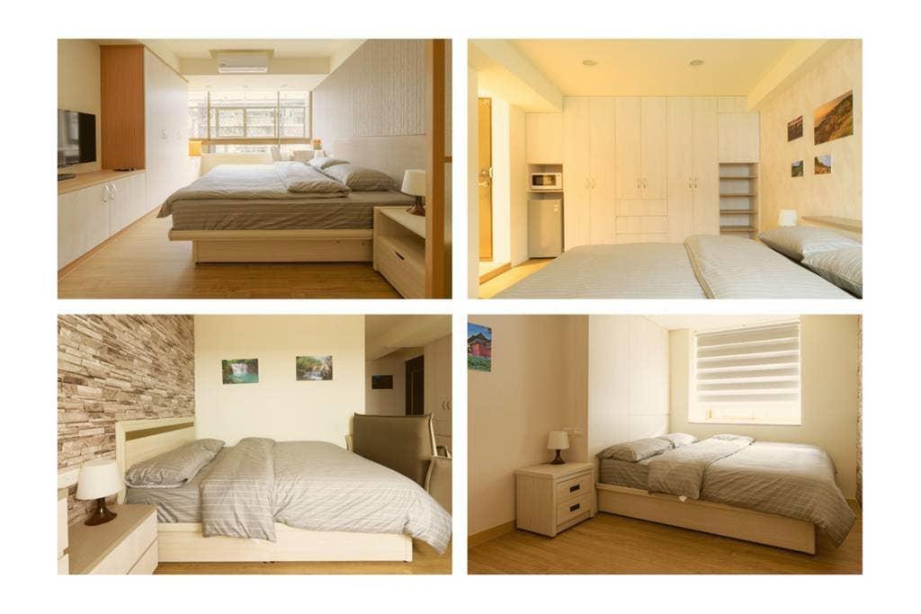 Three Master Bedrooms 4B4b Home 三主臥4房4衛