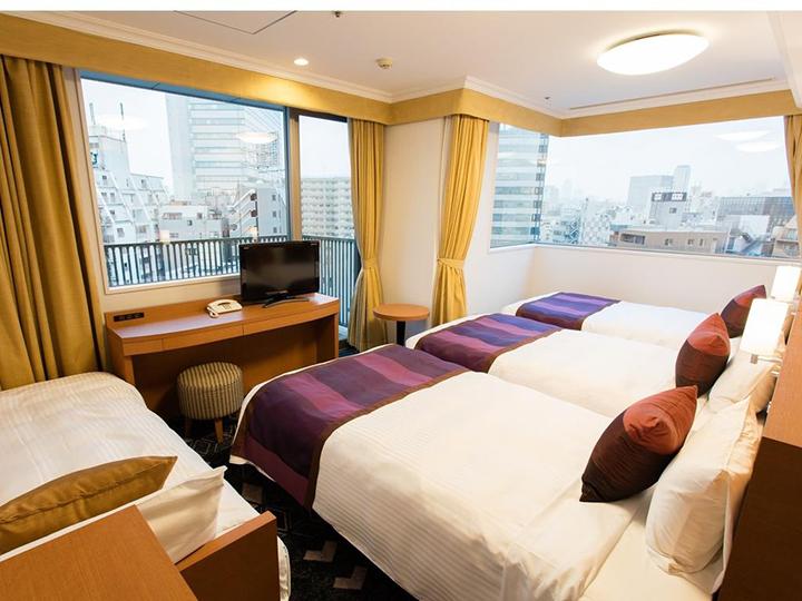 Ryogoku View Hotel(兩國美景酒店)