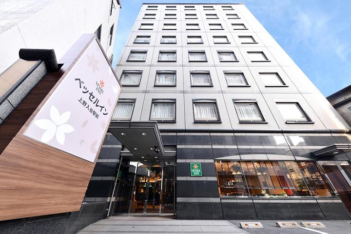 Vessel Inn Ueno Iriya Ekimae(上野入谷站船舶酒店)